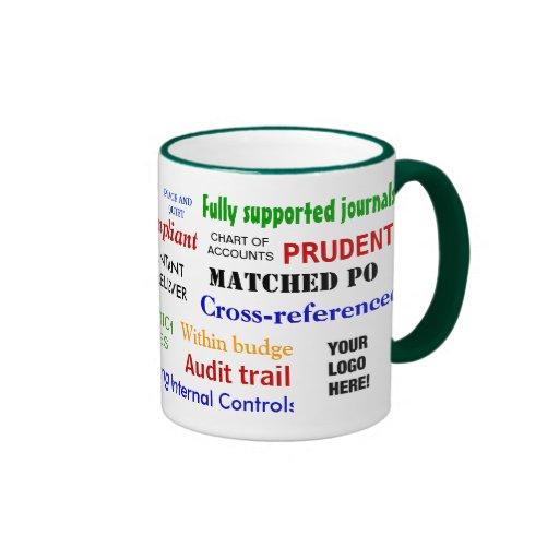 Accountant Stress Reliever!! add your logo Mug