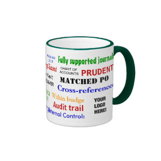 Accountant Stress Reliever!! add your logo Ringer Mug