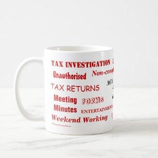 Accountant Swear Words mug