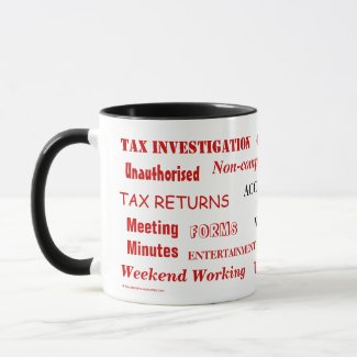 add your business logo accountant cpa mug