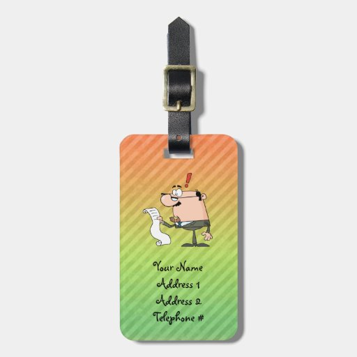 Accountant Tags For Bags