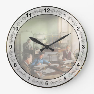 Accountant - The- Bookkeeping dept 1902 Large Clock