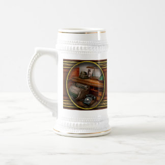Accountant - Typewriter - The accountants office Beer Stein