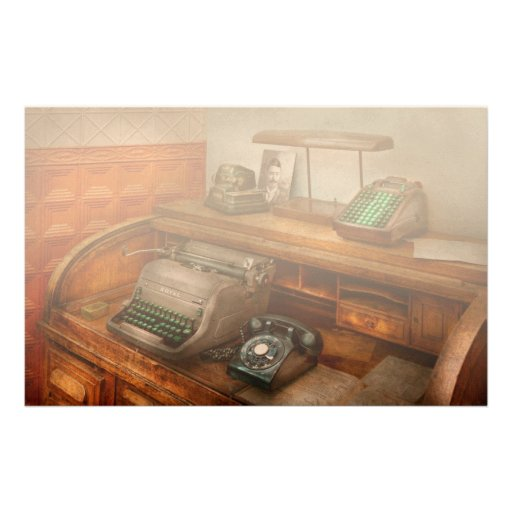 Accountant - Typewriter - The accountants office Stationery