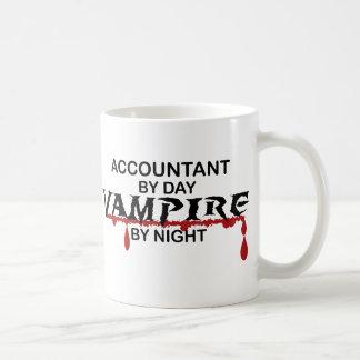 Accountant Vampire by Night Mug