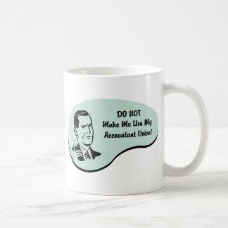 Accountant Voice Coffee Mug