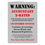 Accountant X-Rated Funny Joke - Add Name & Caption