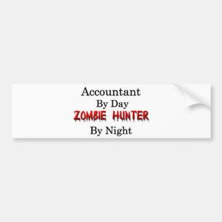 Accountant/Zombie Hunter Bumper Sticker