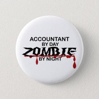 Accountant Zombie Pinback Button