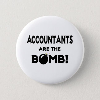 Accountants Are The Bomb! Pinback Button