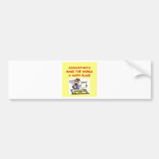 accountants bumper stickers