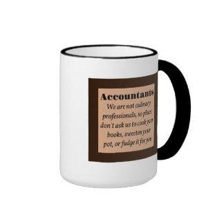 Accountants, Cook the Books Ringer Mug