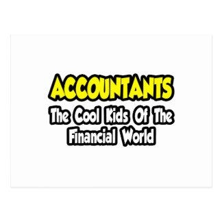 Accountants...Cool Kids of Financial World Postcard