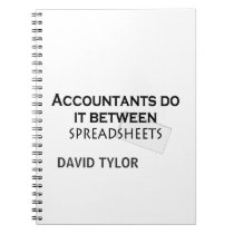 Accountants do it! notebook