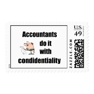 accountants do it with confidentiality postage