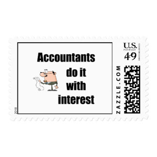 Accountants do it with interest stamp