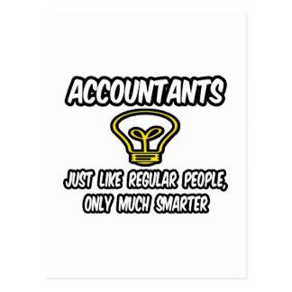 Accountants...Like Regular People, Only Smarter Postcard