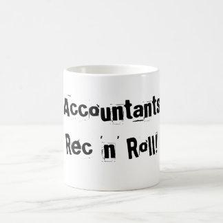 Accountants Rec 'n' Roll! Classic White Coffee Mug