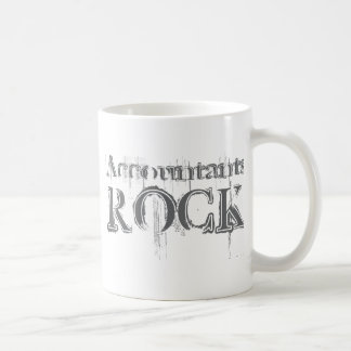 Accountants Rock Classic White Coffee Mug