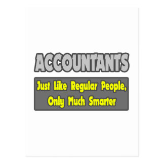 Accountants...Smarter Postcard