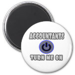 Accountants Turn Me On Magnet