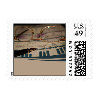 Accounting 1 postage stamp