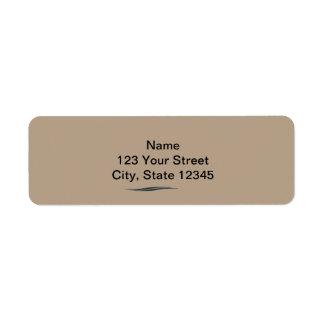 Accounting 2 return address label
