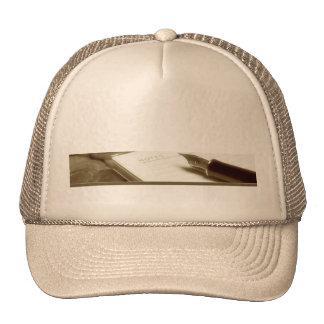 Accounting 3 trucker hat