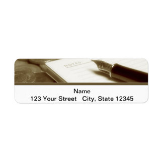 Accounting 3 return address label