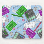 "Accounting / Accountant Themed Pattern Mouse Pad<br><div class=""desc"">Accounting / Accountant Themed Pattern</div>"