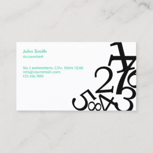 Bookkeeping business cards templates zazzle accounting bookkeeping random numbers business card colourmoves