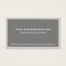 Accounting  Business Card at Zazzle