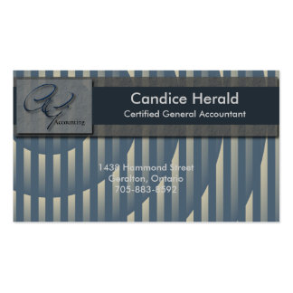 Accounting Business Card - Spotlight