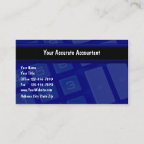 Accounting Business Cards