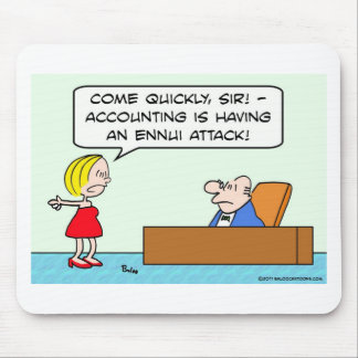 accounting, businessman, ennui, attack mouse pad
