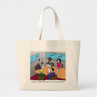 Accounting Cartoon Bag