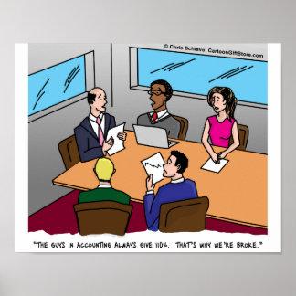 Accounting Cartoon Poster