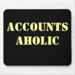 Accounting Coworker Bookkeeper Funny Nickname Mouse Pad