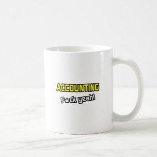 Accounting ... F-ck Yeah! Classic White Coffee Mug