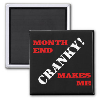 Accounting & Finance Month End Approval Stamp Magnet