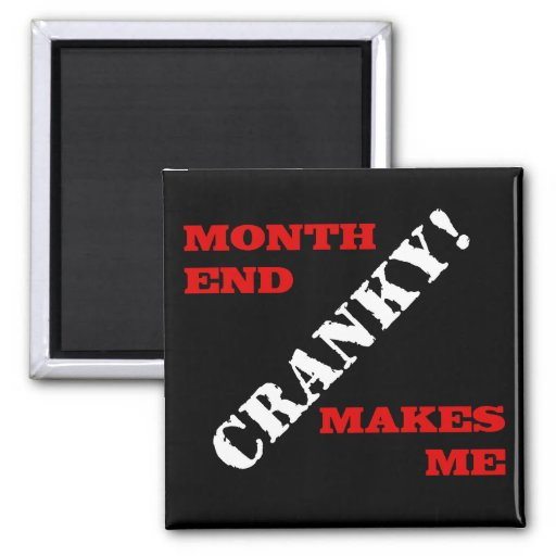 Accounting & Finance Month End Approval Stamp Magnets