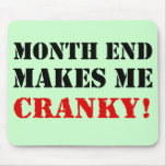 Accounting & Finance Month End Approval Stamp Mouse Pad