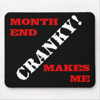 Accounting & Finance Month End Approval Stamp Mousepads
