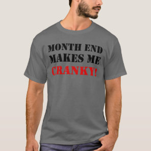 Accounting & Finance Month End Approval Stamp T-Shirt