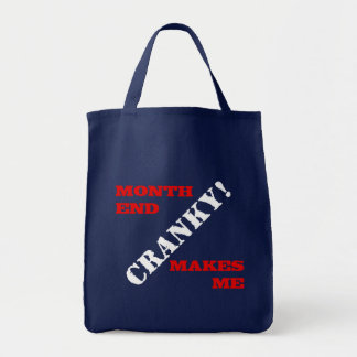 Accounting & Finance Month End Approval Stamp Tote Bag