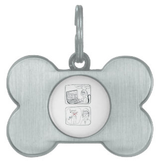 Accounting gift pet ID tags
