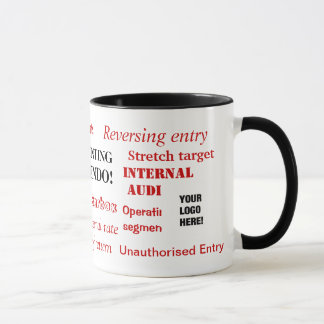 Accounting Innuendo! Add your logo Mug