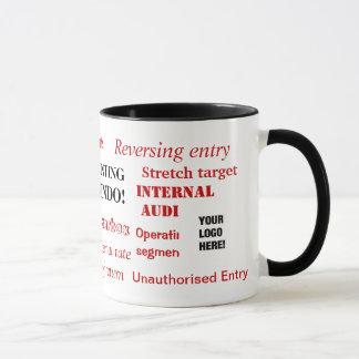 Accounting Innuendo! Add your logo Mug