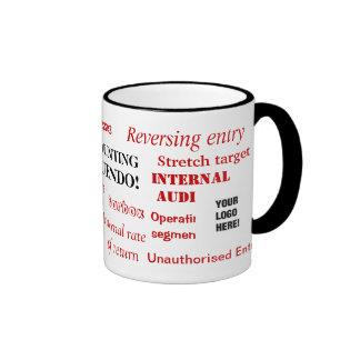 Accounting Innuendo! Add your logo Mugs