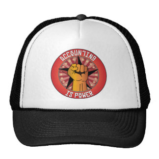 Accounting Is Power Hats
